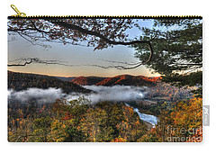 Morning Cheat River Valley Carry-all Pouch