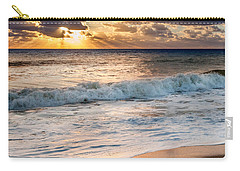 Morning Clouds Square Carry-all Pouch by Bill Wakeley