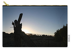 Carry-all Pouch featuring the pyrography Morning by David S Reynolds