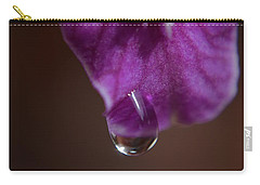 Carry-all Pouch featuring the photograph Morning Dew by Michelle Meenawong
