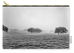 Carry-all Pouch featuring the photograph Morning Fog by Howard Salmon