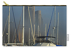 Morning Fog Ll Carry-all Pouch by Leticia Latocki