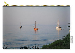 Carry-all Pouch featuring the photograph Morning by George Katechis
