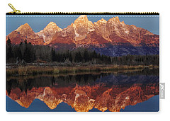 Carry-all Pouch featuring the photograph Morning Glory by Benjamin Yeager