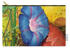 Morning Glory Bloom In Apples Carry-all Pouch