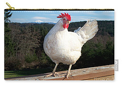 Morning Greeting Carry-all Pouch by Chalet Roome-Rigdon