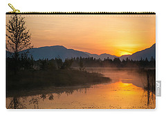 Carry-all Pouch featuring the photograph Morning Has Broken by Jack Bell
