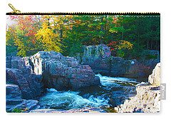 Morning In Eau Claire Dells Carry-all Pouch