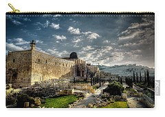 Morning In Jerusalem Hdr Carry-all Pouch