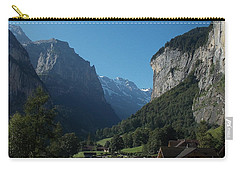 Morning In Lauterbrunnen Carry-all Pouch