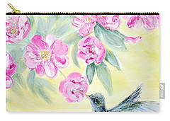 Morning In My Garden. Card Carry-all Pouch