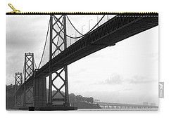 Morning In San Francisco Bw Carry-all Pouch