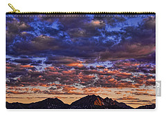 Morning In The Mountains Carry-all Pouch by Don Schwartz