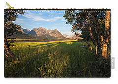 Carry-all Pouch featuring the photograph Morning In The Mountains by Jack Bell