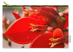 Carry-all Pouch featuring the photograph Morning Jog by Miguel Winterpacht