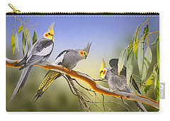 Morning Light - Cockatiels Carry-all Pouch