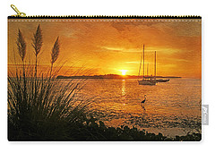 Morning Light - Florida Sunrise Carry-all Pouch by HH Photography of Florida