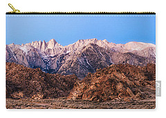 Morning Light Mount Whitney Carry-all Pouch