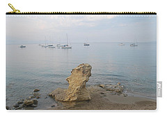 Carry-all Pouch featuring the photograph Morning Mist 2 by George Katechis