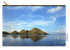 Carry-all Pouch featuring the photograph Morning On Komodo by Sergey Lukashin