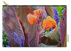 Carry-all Pouch featuring the photograph Morning Rain by Joseph Yarbrough