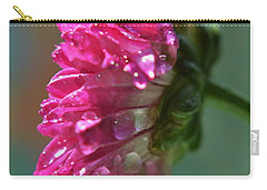 Carry-all Pouch featuring the photograph Morning Shower by Michelle Meenawong