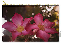 Carry-all Pouch featuring the photograph Morning Sunshine And Rain by Miguel Winterpacht