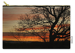 Morning View In Bosque Carry-all Pouch
