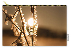 Carry-all Pouch featuring the photograph Morning Walk by Miguel Winterpacht