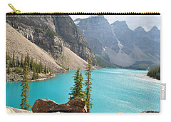 Morraine Lake Carry-all Pouch by Jim Hogg