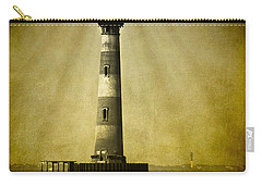 Morris Island Light Bw Vintage Carry-all Pouch