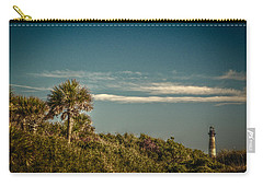 Morris Island Light Charleston Sc Carry-all Pouch