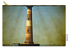 Morris Island Light Color Vintage Carry-all Pouch