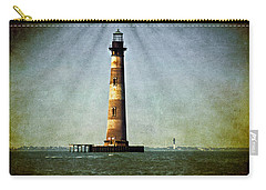 Morris Island Light Vintage Color Uncropped Carry-all Pouch