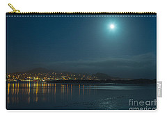 Morro Bay At Night Carry-all Pouch