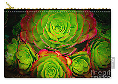Morro Bay Echeveria Carry-all Pouch