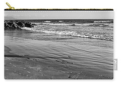 Morro Beach Walk Carry-all Pouch by Terry Garvin