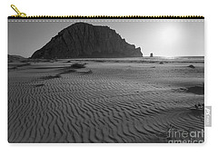 Morro Rock Silhouette Carry-all Pouch