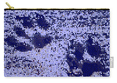 Mosaic Pawprints Carry-all Pouch