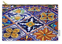 Mosaic Tile Tabletop Carry-all Pouch