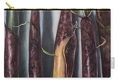 Carry-all Pouch featuring the painting Moso Bamboo  by Randol Burns