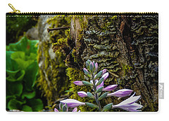 Moss And Flowers In Markree Castle Gardens Carry-all Pouch