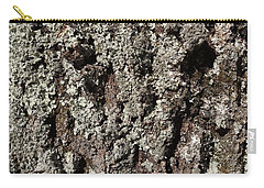 Carry-all Pouch featuring the photograph Moss And Lichens by Jason Williamson