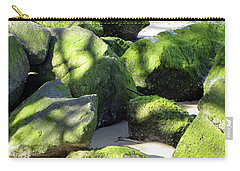 Moss On The Rocks Carry-all Pouch