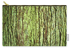Moss On Tree Bark Carry-all Pouch