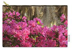 Moss Over Azaleas Carry-all Pouch