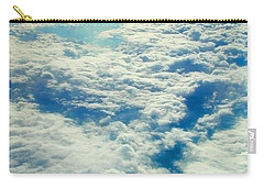 Carry-all Pouch featuring the photograph Mostly Cloudy by Mark Greenberg
