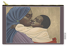 Mother And Child Of Kibeho 211 Carry-all Pouch