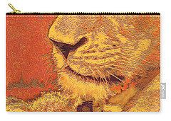 Mother And Cub Carry-all Pouch by Jane Schnetlage