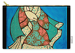 Mother Mary And Baby Jesus Carry-all Pouch